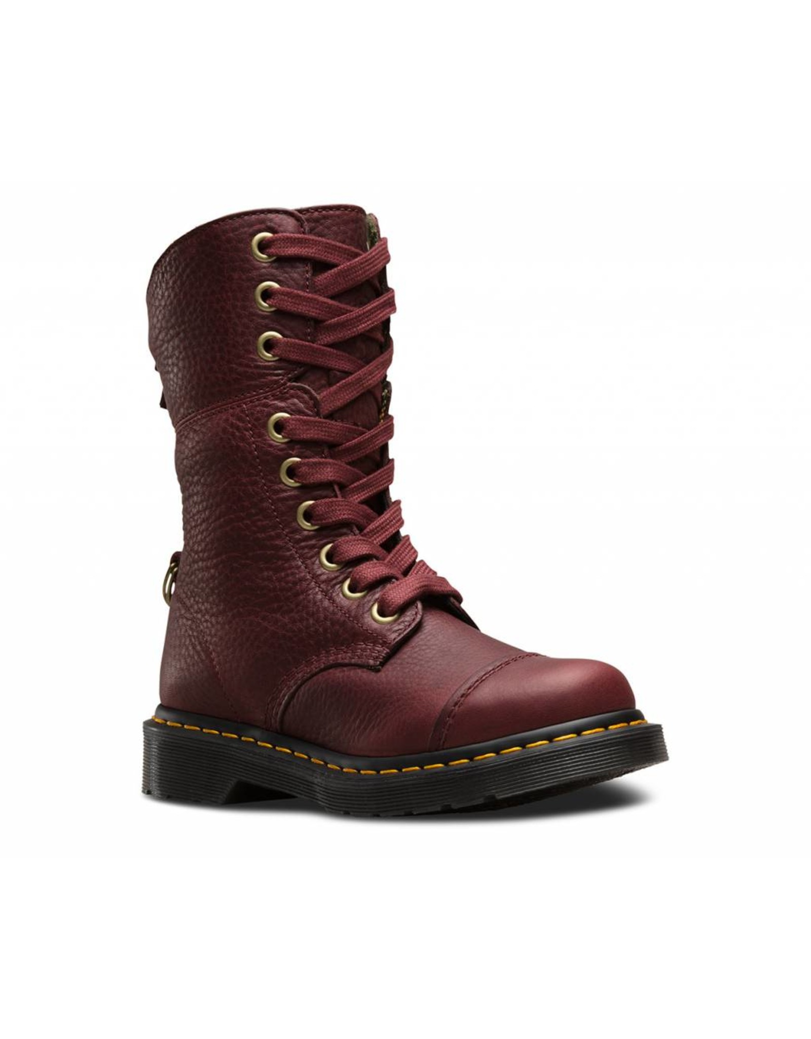 DR. MARTENS AIMILITA CHERRY RED GRIZZLY 901CRTA-R23185600