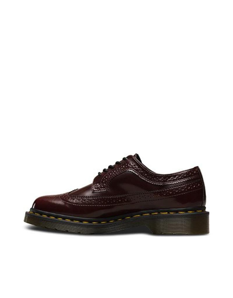 DR. MARTENS 3989 VEGANCHERRY RED CAMBRIDGE BRUSH 502VECA-R16153601