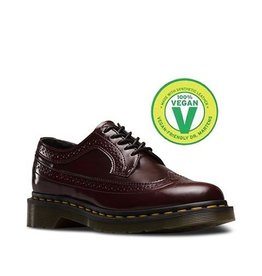 DR. MARTENS 3989 VEGAN CHERRY RED CAMBRIDGE BRUSH 502VECA-R16153601