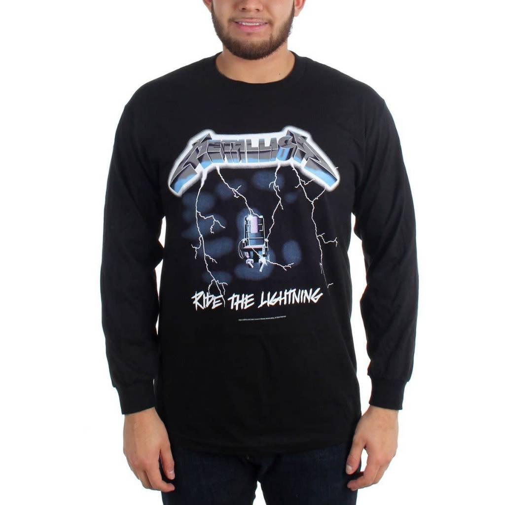 182d2f4f9 New Way 925 - Unisex Long-Sleeve T-Shirt Metallica Metal Rock Band Logo