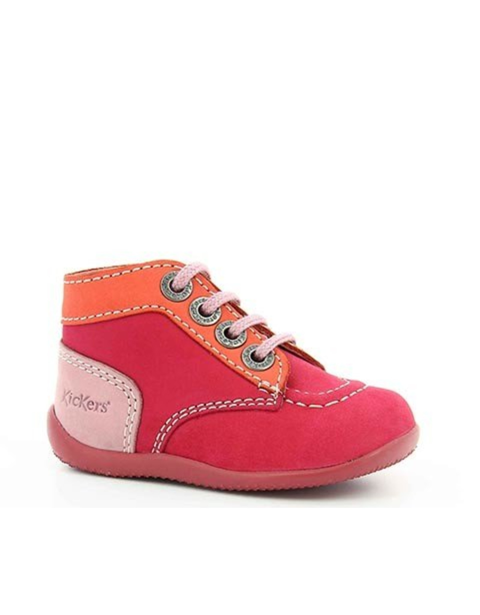 KICKERS BONBON FUCHSIA ORANGE ROSE KR3FO 18E446827-10