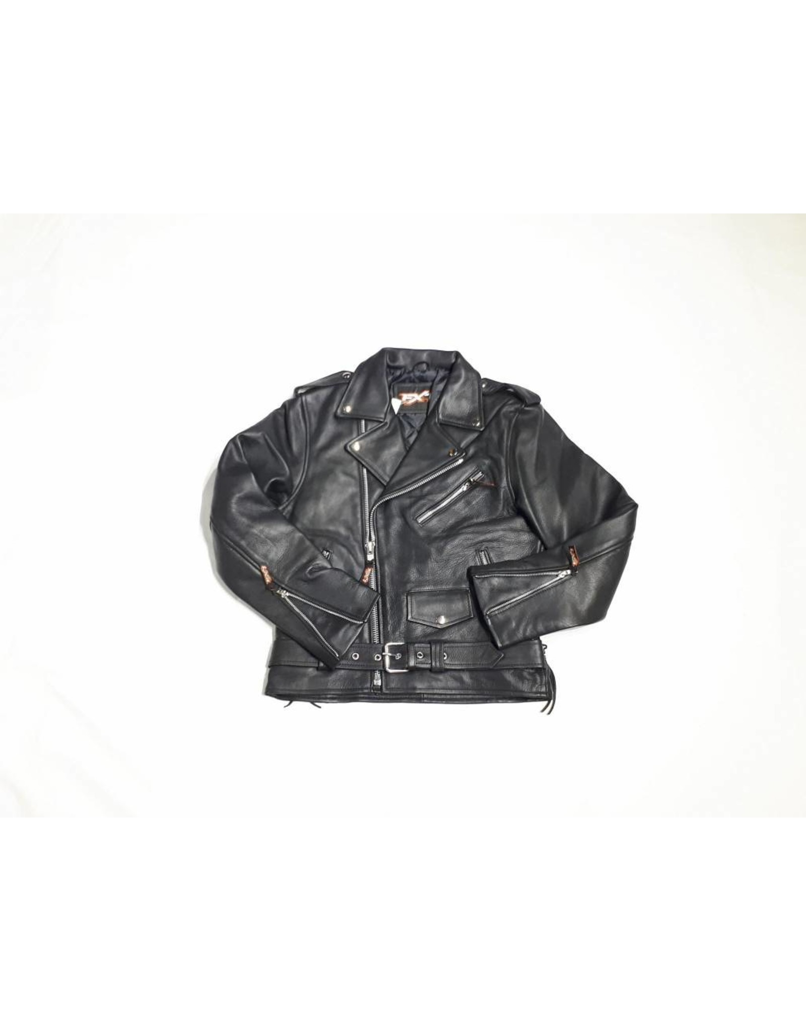 Perfecto - Leather Coat with Laces
