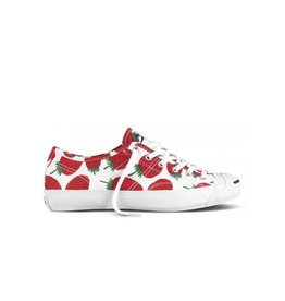 CONVERSE Jack Purcell HELEN OX WHITE RED C369SR-537412C