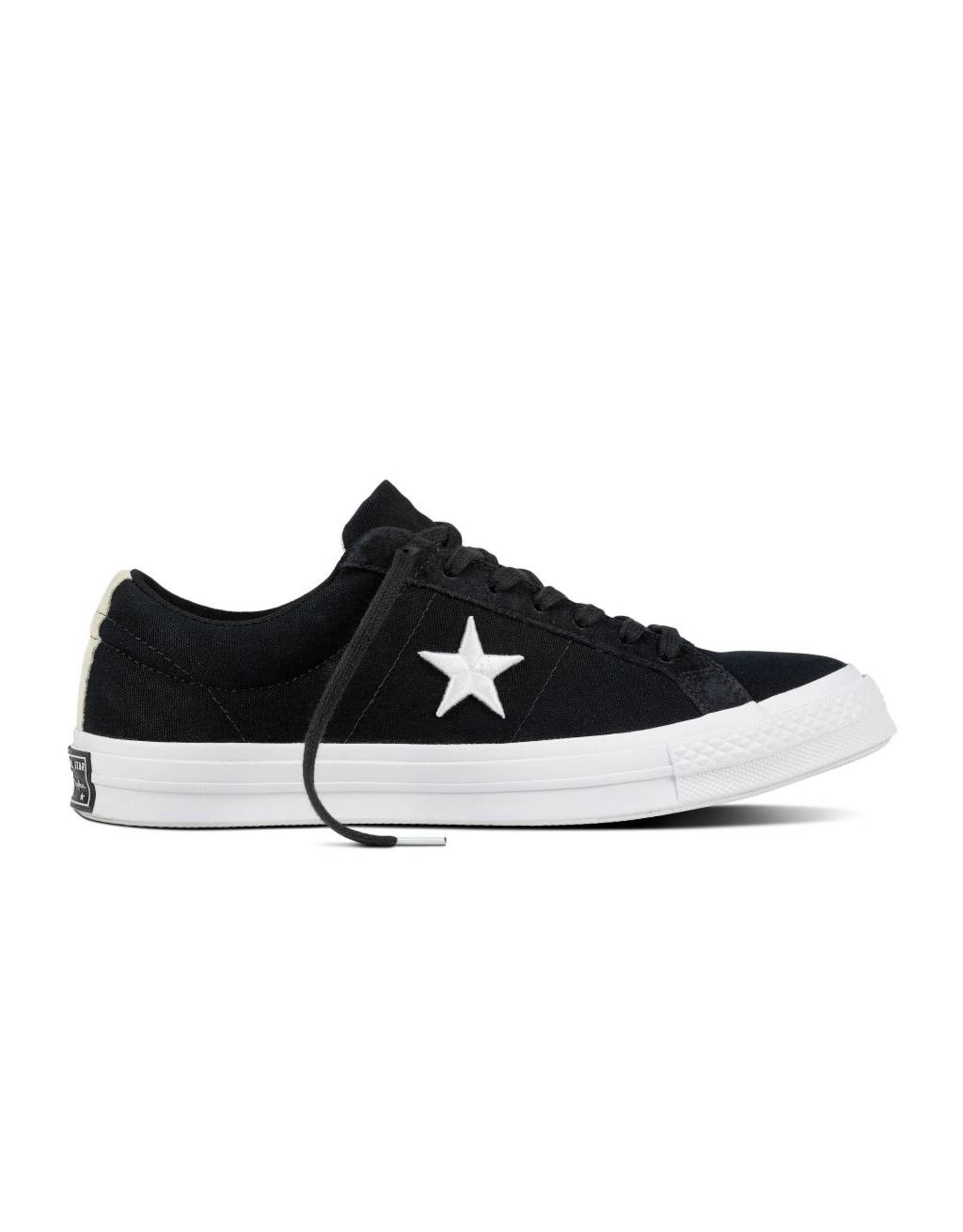 CONVERSE ONE STAR OX BLACK/WHITE/WHITE C887BW-160600C