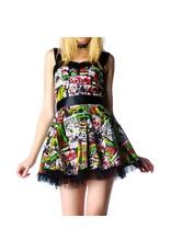 HELL BUNNY - BMovie Mini Dress