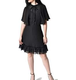 HELL BUNNY Imperia Black Dress