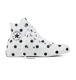 CONVERSE CHUCK TAYLOR HI WHITE/BLACK/ILLUSION GREEN C18ILG-560627C