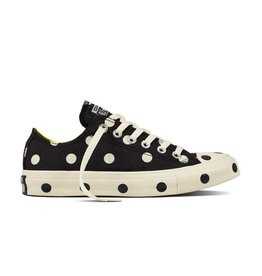 CONVERSE CHUCK TAYLOR OX BLACK/WHITE/FRESH YELLOW C12FY-560628C