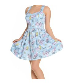 HELL BUNNY - Andrina Mini Blue Dress
