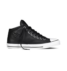 CONVERSE CHUCK TAYLOR HIGH STREET HI LEATHER BLACK CC598B-149426C
