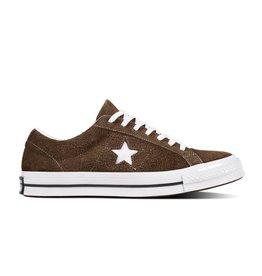 CONVERSE ONE STAR OX CHOCOLATE/WHITE/WHITE C887CHO-162573C