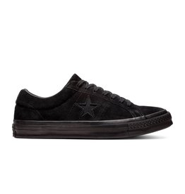 CONVERSE ONE STAR OX BLACK/BLACK/BLACK C887BK-162950C