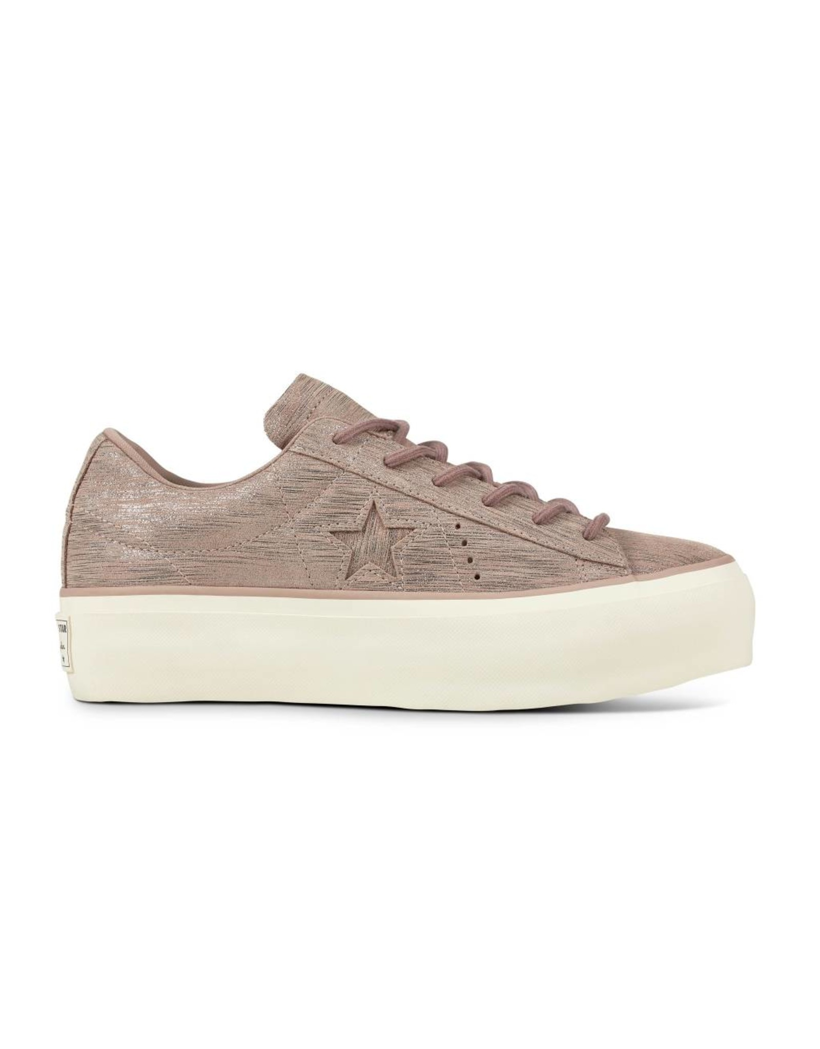 CONVERSE ONE STAR PLATFORM OX DIFFUSED TAUPE C887PD-561771C