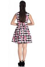HELL BUNNY - Harlequin Mini Dress