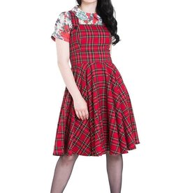 HELL BUNNY - Irvine Pinafore Dress