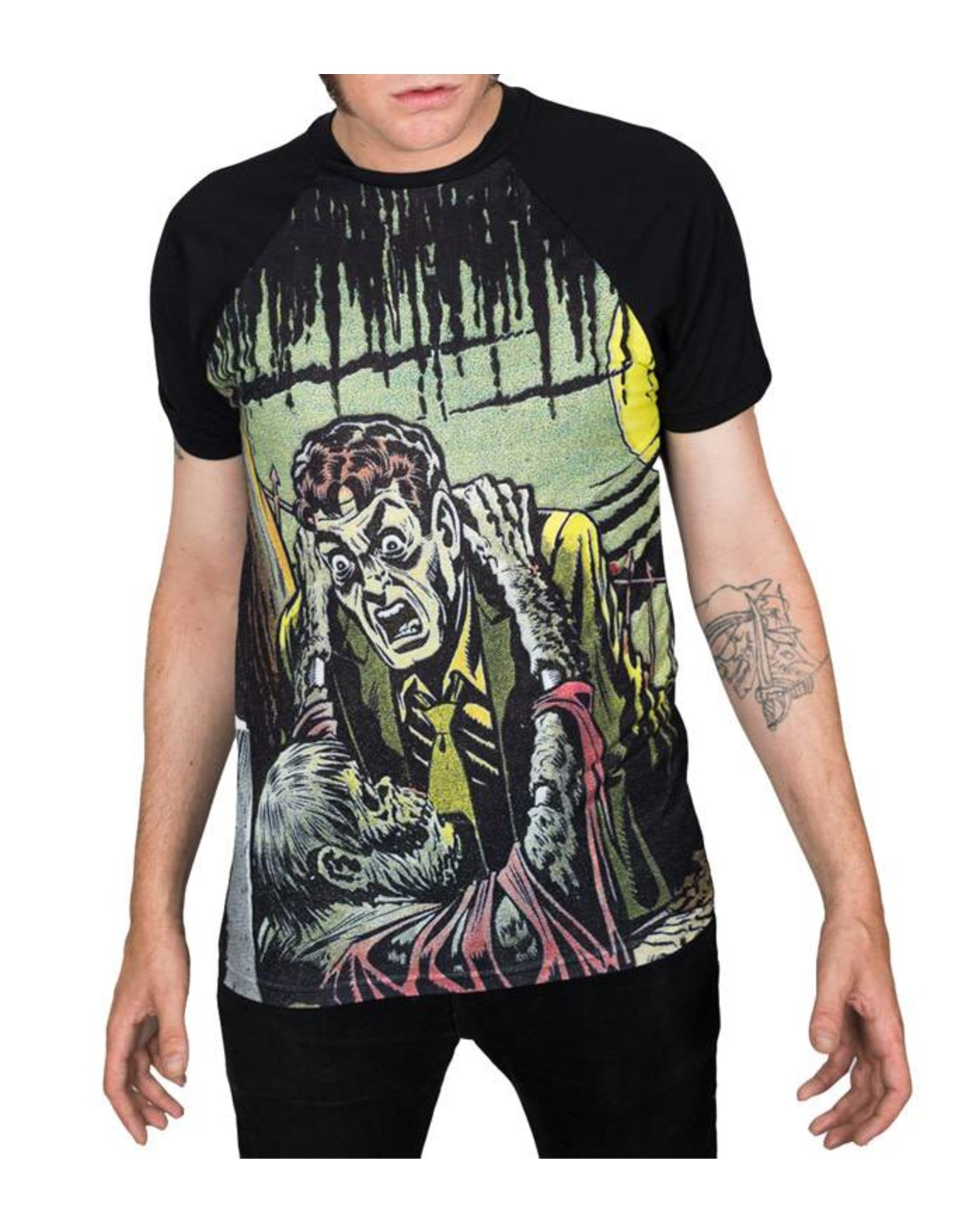 KREEPSVILLE 666 - Tales From The Crypt Gravebuster T-Shirt