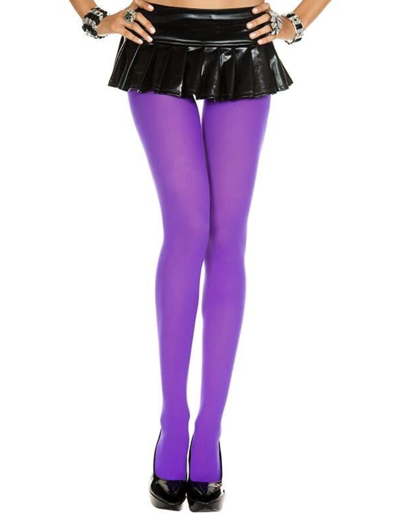 MUSIC LEGS - Purple Opaque Tights
