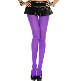 MUSIC LEGS - Purple Opaque Tights
