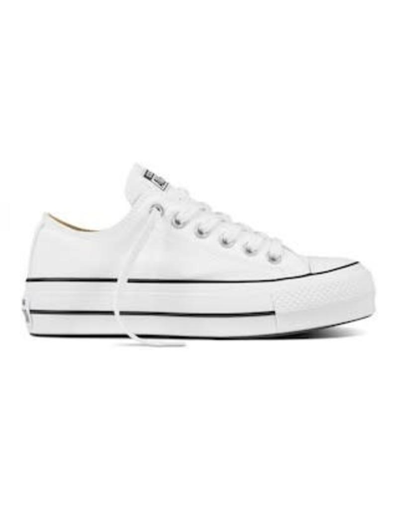 CONVERSE CHUCK TAYLOR LIFT OX WHITE/BLACK/WHITE C12POP-560251C