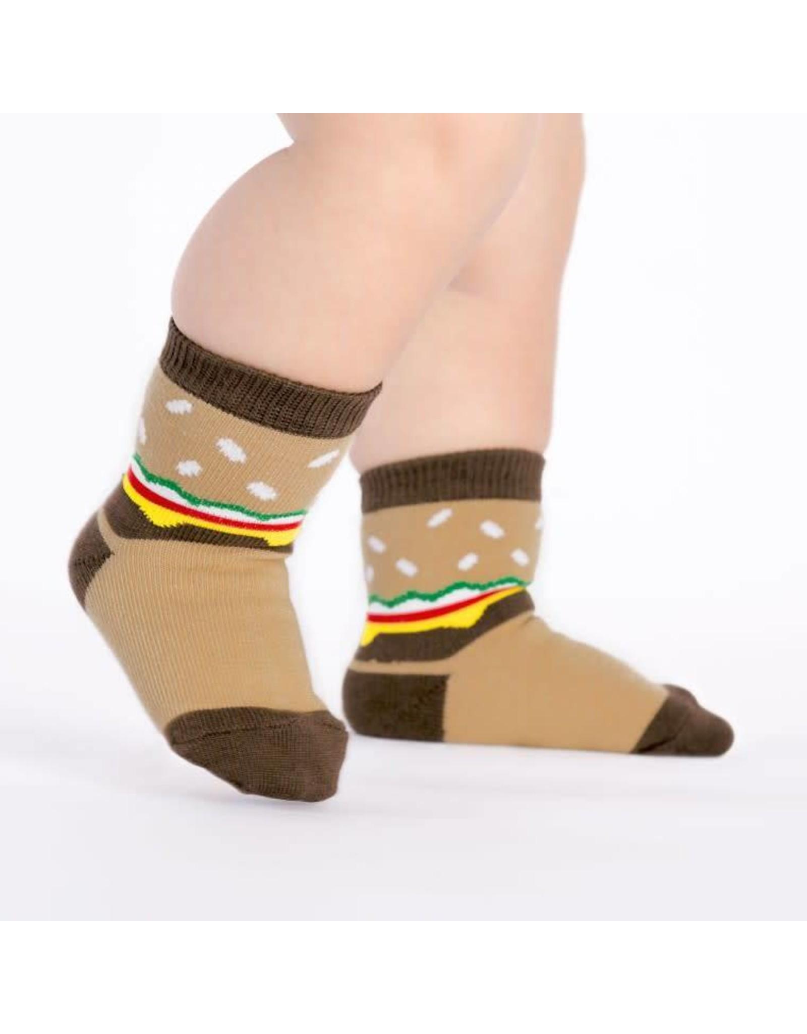 SOCK IT TO ME - Toddler Cheeseburger Socks