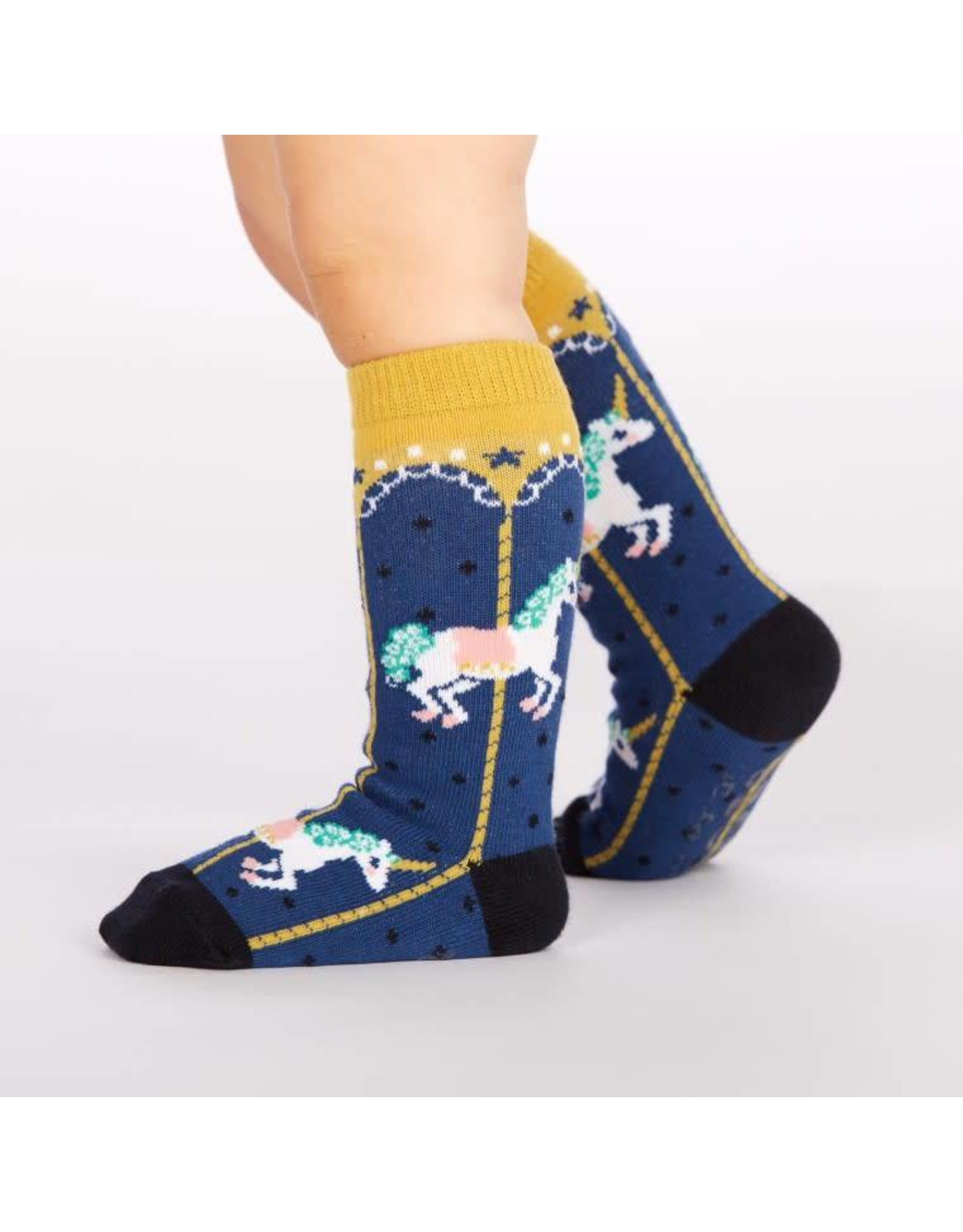 SOCK IT TO ME - Toddler Carousel Knee Socks
