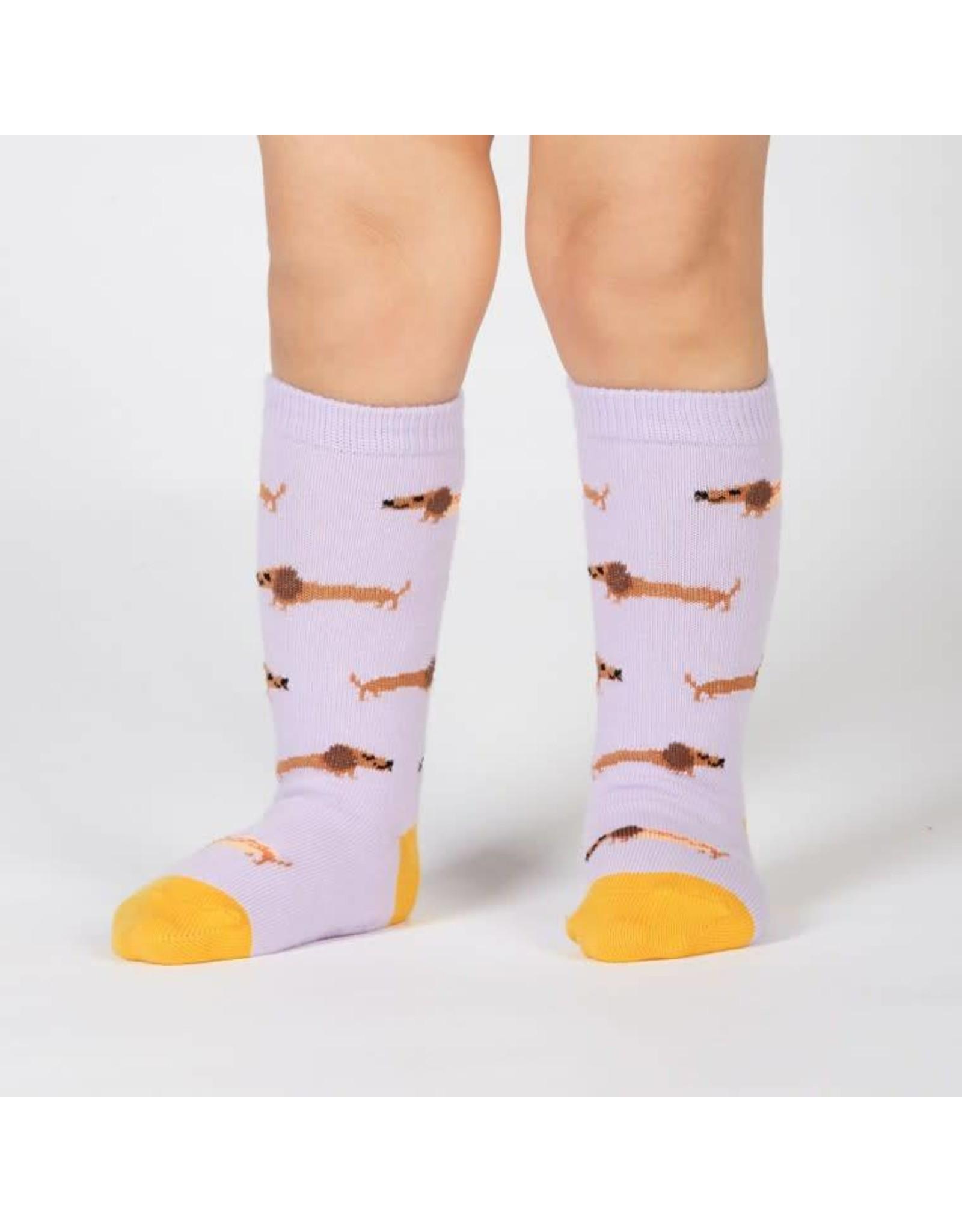 SOCK IT TO ME - Toddler Hot Dogs Knee Socks