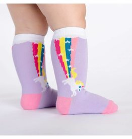 SOCK IT TO ME - Toddler Rainbow Blast Knee Socks