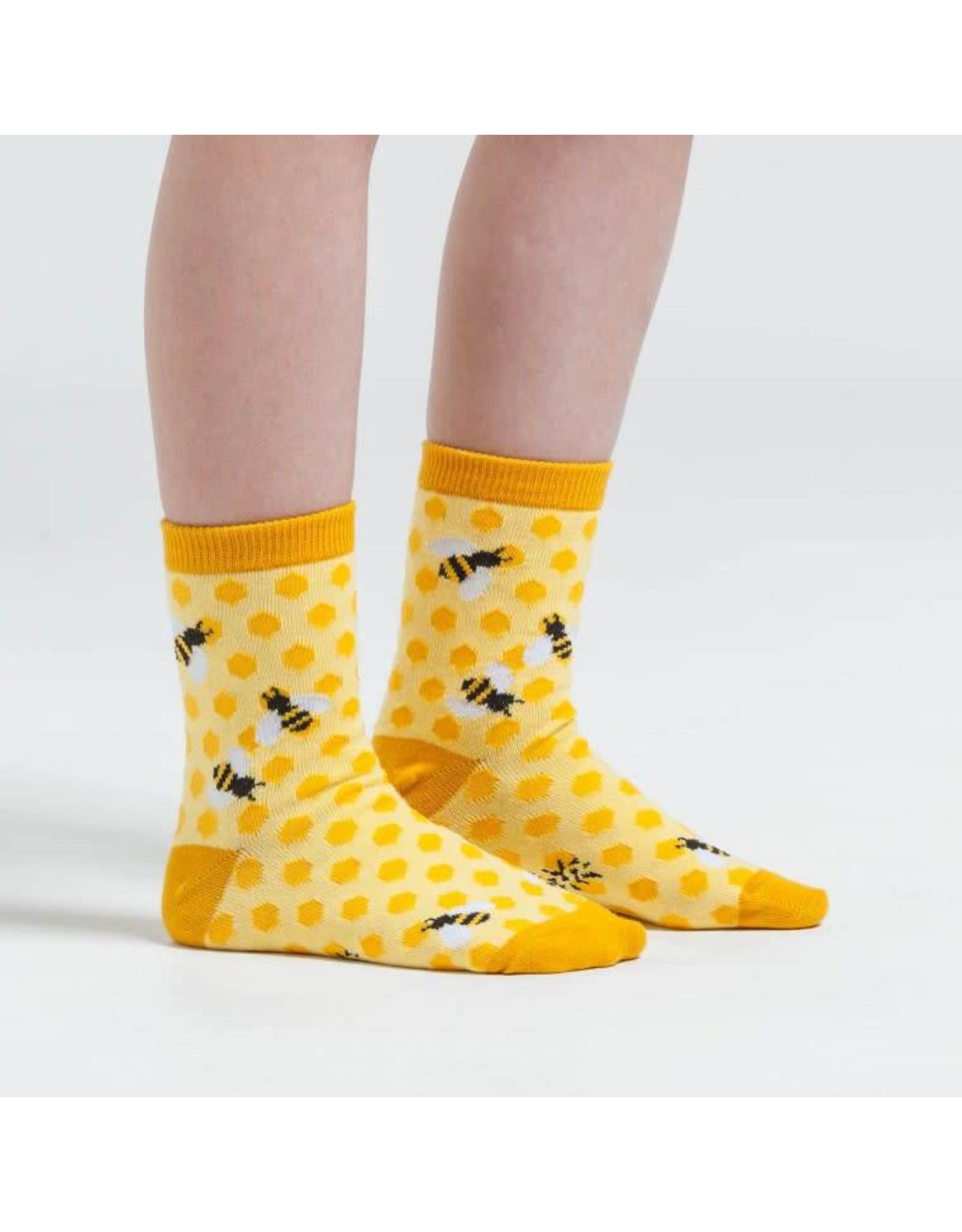 SOCK IT TO ME - Youth Bee's Knees Crew Socks