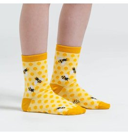 SOCK IT TO ME - Youth Bee's Knees Crew Socks