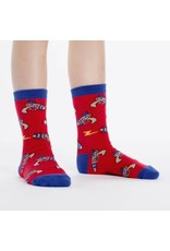 SOCK IT TO ME - Youth Ray Guns Crew Socks