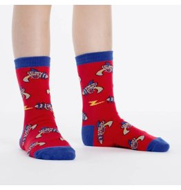SOCK IT TO ME - Youth Ray Guns Crew Socks