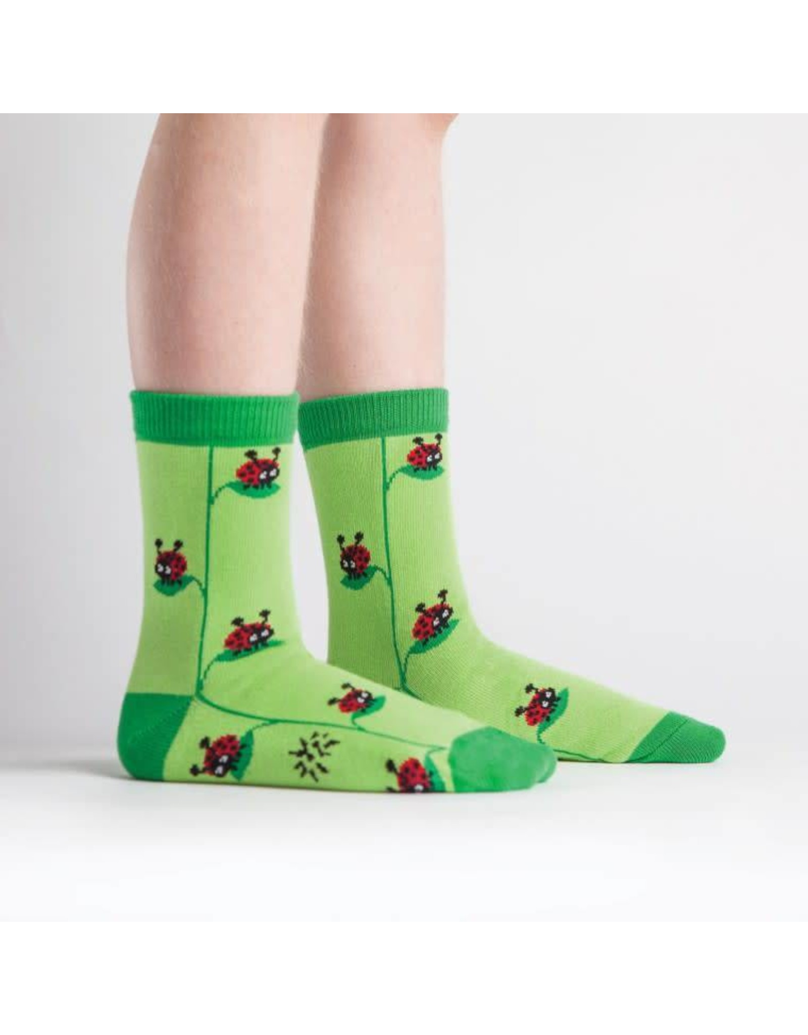 SOCK IT TO ME - Youth Ladybug Crew Socks