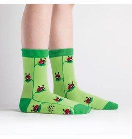 SOCK IT TO ME - Youth Ladybug Crew Socks