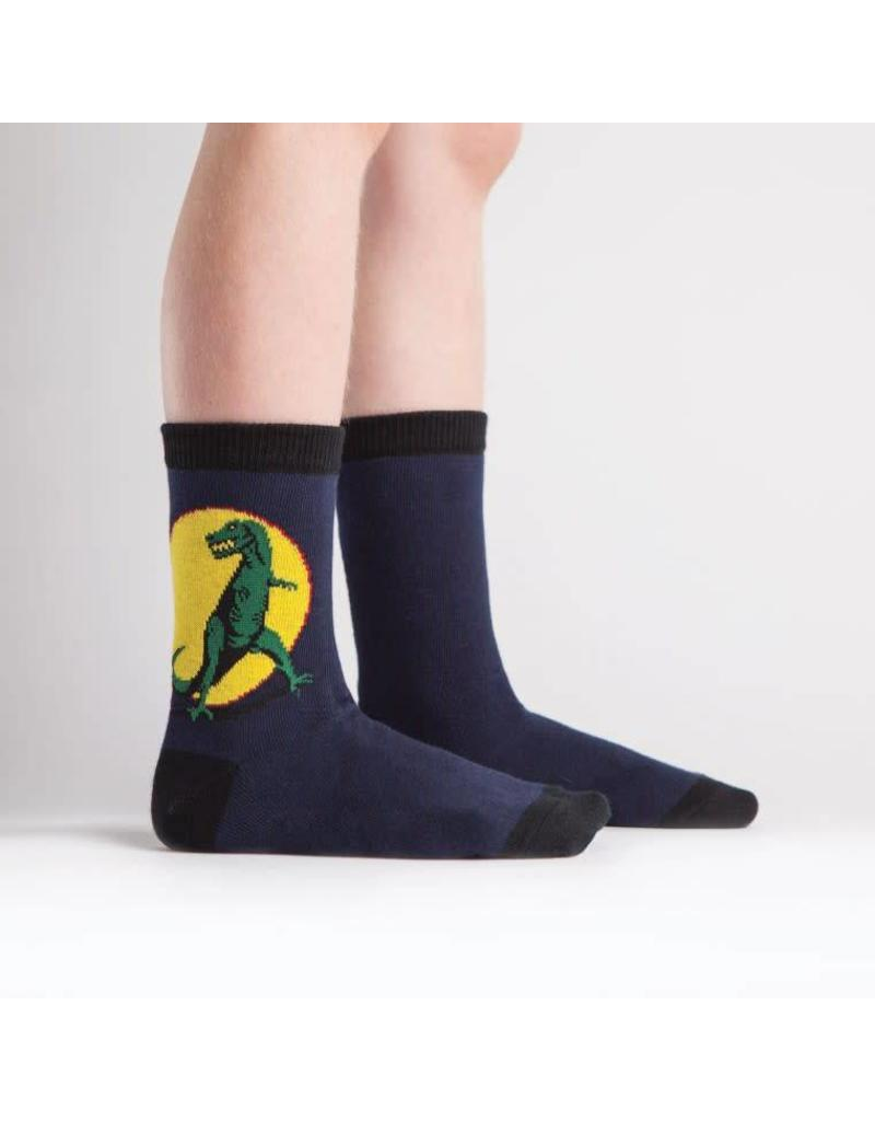 SOCK IT TO ME - Youth T-Rex Crew Socks