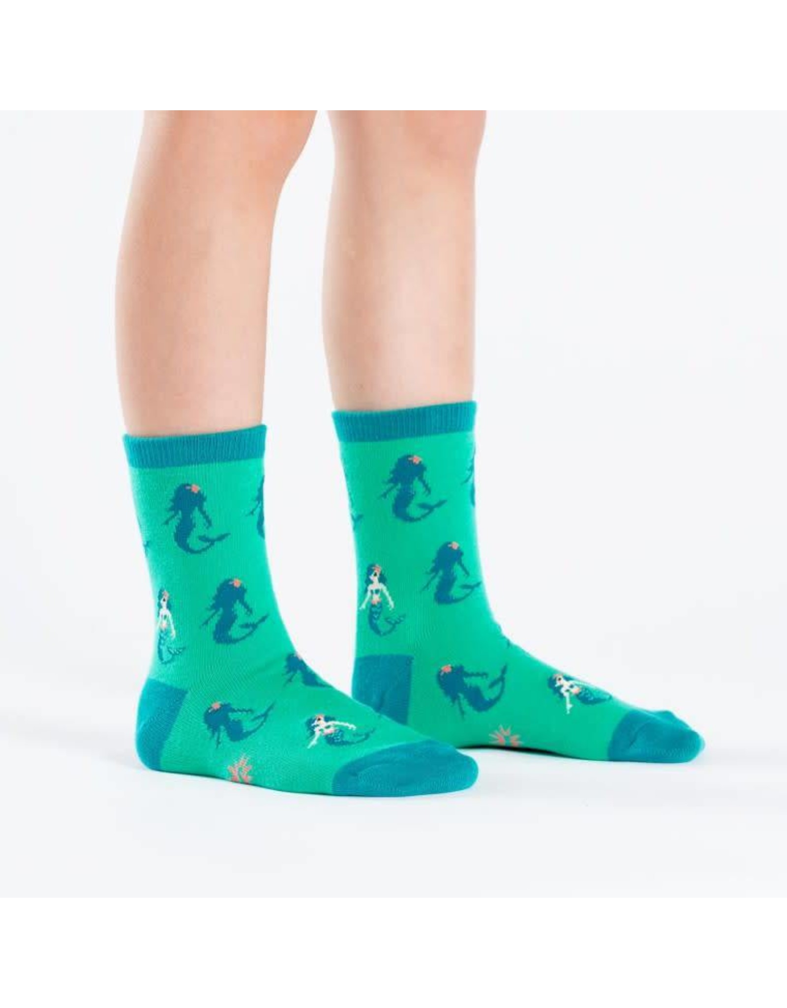 SOCK IT TO ME - Youth Princess of The Sea Crew Socks