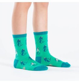 SOCK IT TO ME - Youth Princess of The Sea Crew Socks
