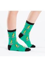 SOCK IT TO ME - Junior Peeling Out Crew Socks