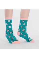 SOCK IT TO ME - Junior Feline Fine Crew Socks