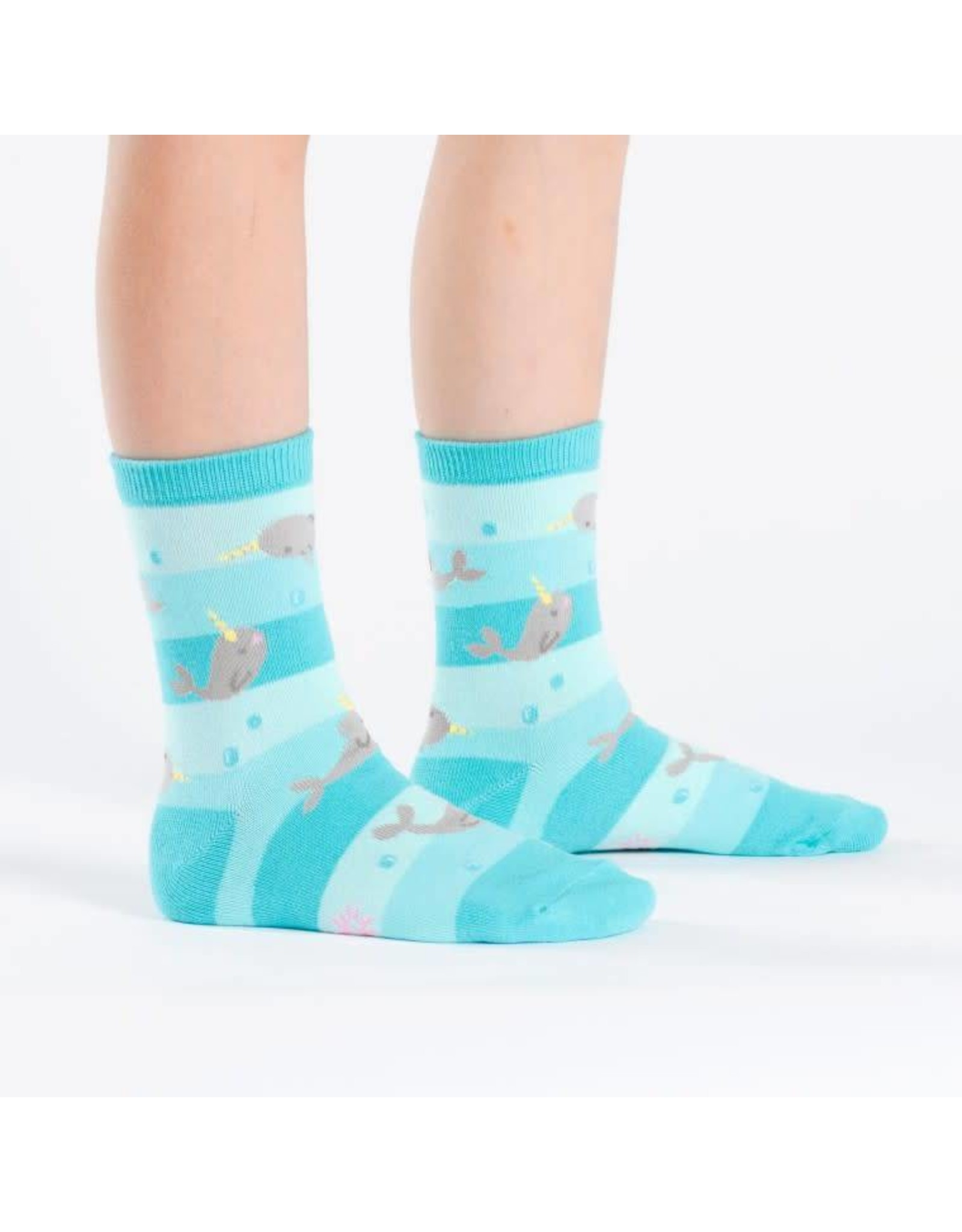 SOCK IT TO ME - Junior Unicorn of The Sea Crew Socks