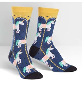 SOCK IT TO ME - Women's Carousel Crew Socks