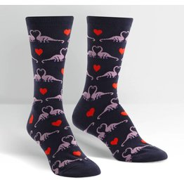 SOCK IT TO ME - Women's Happy You Exist Crew Socks