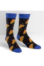 SOCK IT TO ME - Men's Pizza Party Crew Socks