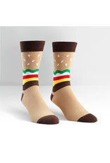 SOCK IT TO ME - Men's Burger Crew Socks