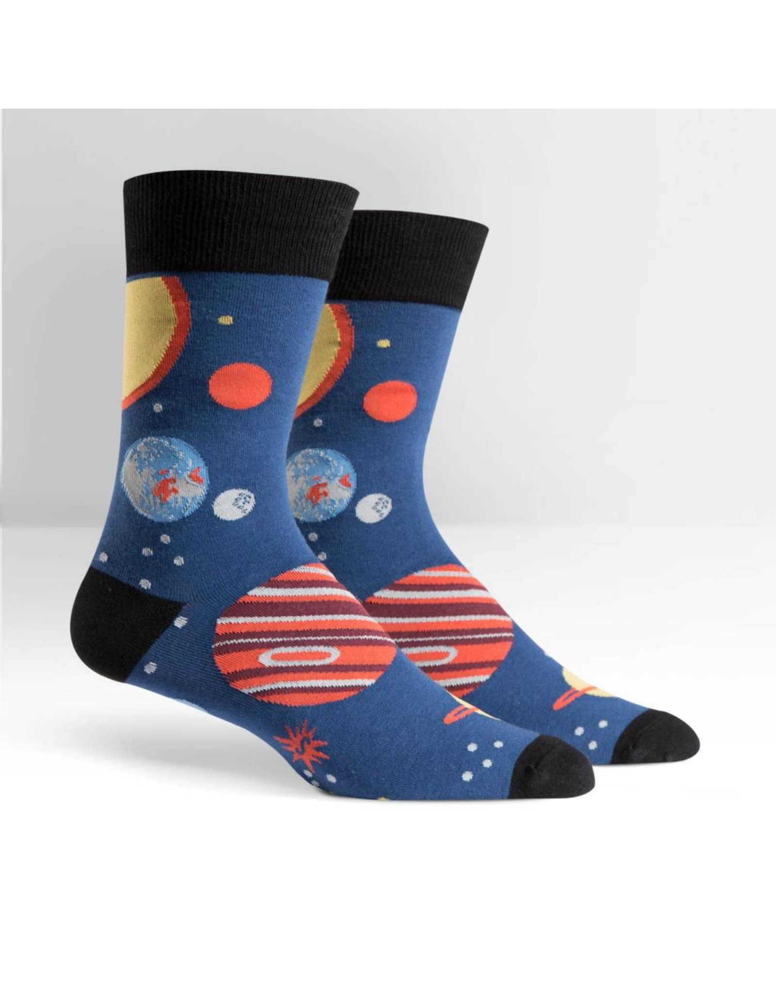 SOCK IT TO ME - Men's Planets Crew Socks