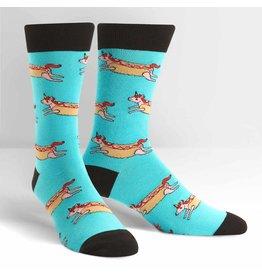 SOCK IT TO ME - Men's Corn Dog Crew Socks
