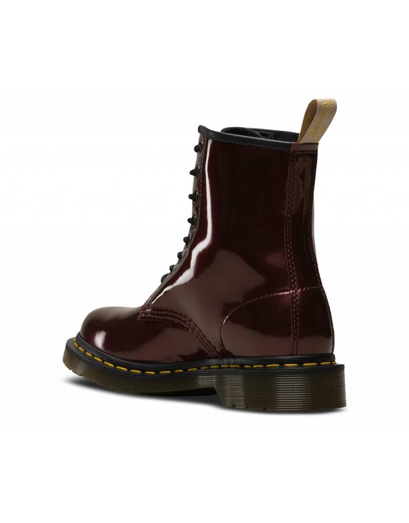 DR. MARTENS 1460 W VEGAN CHROME OXBLOOD CHROME PAINT METALLIC 815VCO-R23922601