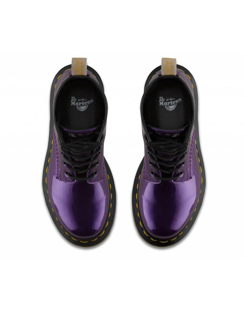 DR. MARTENS 1460 W VEGAN CHROME DARK PURPLE CHROME PAINT METALLIC 815VCP-R23922514
