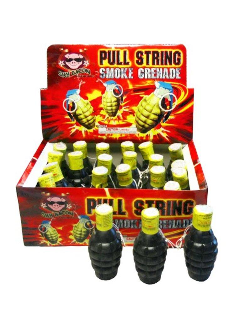 Sky Bacon Pull String Smoke Grenade, SB - Case 4/24