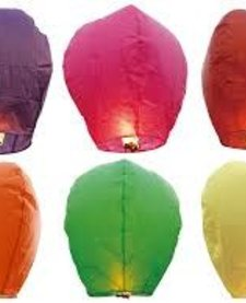 Sky Lantern - Assorted Colors