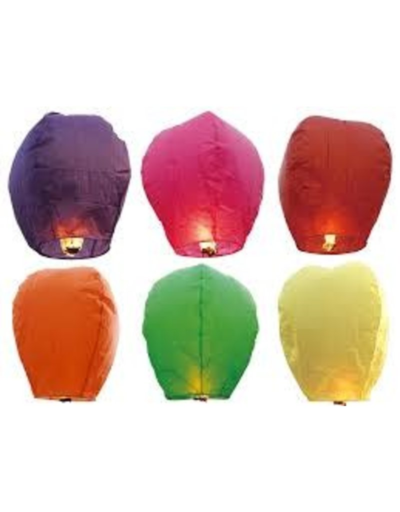 AAH Sky Lantern - Assorted Colors